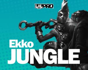 Ekko – Build e Runas de League of Legends (Jungle)