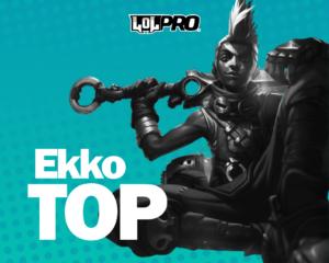 Como Jogar de Ekko Top (Build Tank)