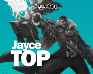 League of Legends Jayce Top, Pro Build e Runas