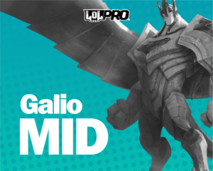 Galio – Build e Runas de League of Legends (Mid)