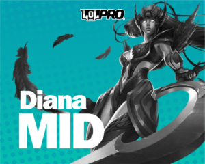 Diana – Build e Runas de League of Legends (MID)