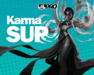 Como jogar de Karma Suporte