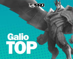 Galio – Build e Runas de League of Legends (Top)