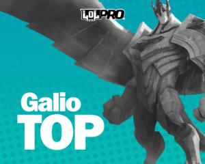 Galio – Build e Runas de League of Legends (Top)