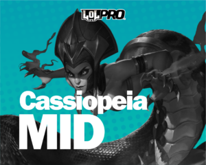 Como jogar de Cassiopeia MID