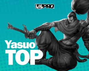 Yasuo – Build e Runas de League of Legends (TOP)