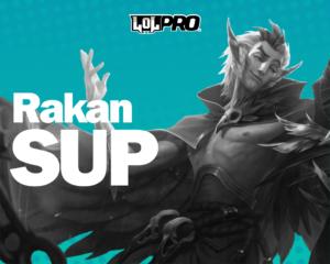 Como Jogar de Rakan Suporte