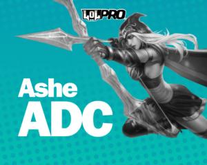 Como Jogar de Ashe ADC