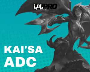 Como Jogar de Kai'Sa ADC AP