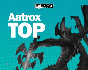 Como Jogar de Aatrox Top