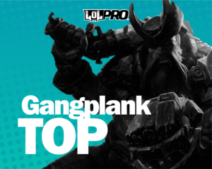 Como Jogar de Gangplank Top