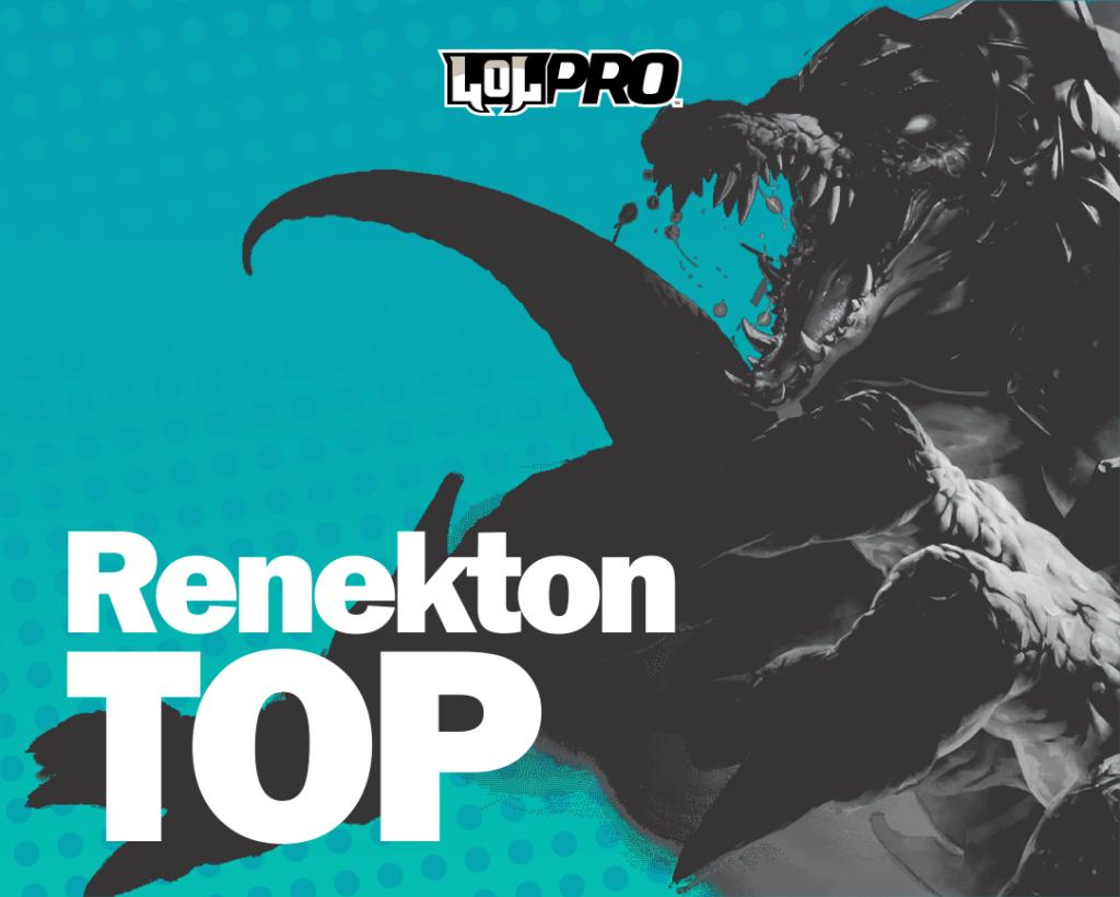 Renekton Top Lolpro