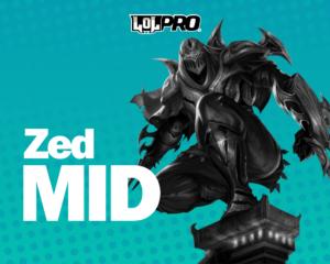 Como Jogar de Zed Mid