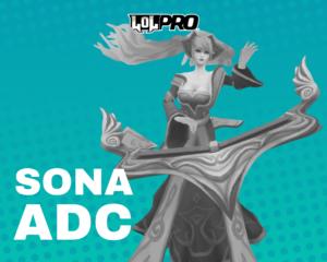 Sona – Build e Runas de League of Legends (Adc)