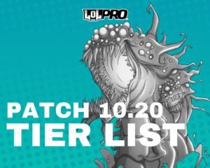 League of Legends Tier List Patch 10.20 (Melhores Campeões em cada posição)