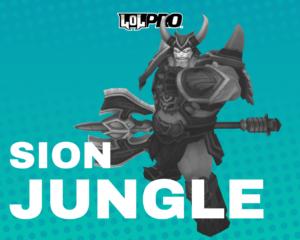 Sion – Build e Runas de League of Legends (Jungle)